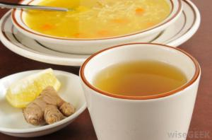 chicken-noodle-soup-and-tea